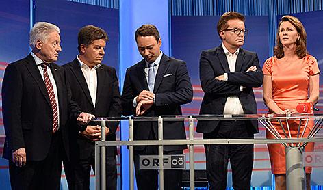 Die Spitzenkandidaten bei der Landtagswahl in Oberösterreich
