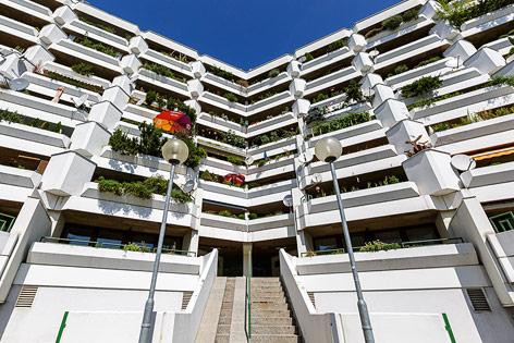 Eindrücke vom Floridsdorfer Gemeindebau