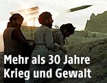 Taliban schießen eine Rakete ab