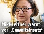 Innenministerin Joahnna Mikl-Leitner