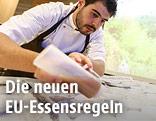 Zubereitung und Verkostung von Novel Food im EU-Parlament