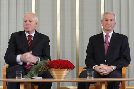 Thorbjorn Jagland und Geir Lundestad