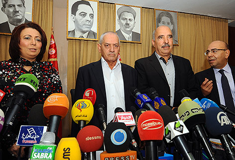 Wided Bouchamaoui, Houcine Abbassi,  Abdessattar ben Moussa, Mohamed Fadhel Mahmoud