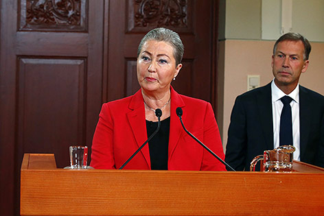 Vorsitzende des Nobelpreiskomitees Kaci Kullmann Five