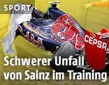 Formel 1 Bolide von Carlos Sainz