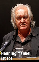 Schriftsteller Henning Mankell
