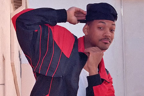 """Will Smith im Jahr 1990 als """"The Fresh Prince"""""""