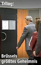 Beginn einer Sitzung im Europäischen Parlament