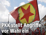 PKK-Fahne