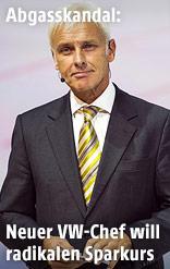 Porsche AG CEO Matthias Müller