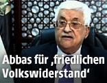 Palästinenser-Präsident Mahmoud Abbas