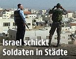 Israelische Soldaten in Jerusalem