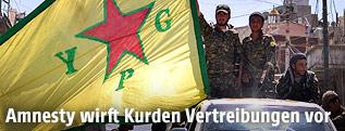 Mitglieder der Kurdenmiliz YPG