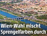 Luftaufnahme von Wien-Floridsdorf