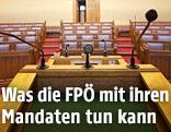 Sitzungssaal im Wiener Rathaus