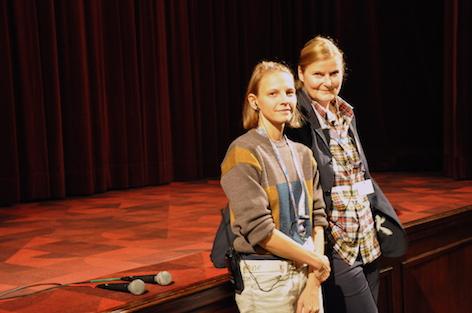 Magda Tothova und Birgit Baldasti