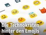 Emojis auf einem Handy