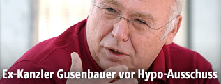 Ex-Bundeskanzler Alfred Gusenbauer