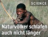 Eingeborener Jäger
