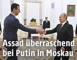 Der syrische Machthaber Baschar al-Assad und Russlands Präsident Wladimir Putin