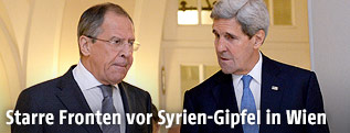 John Kerry und Sergej Lawrow