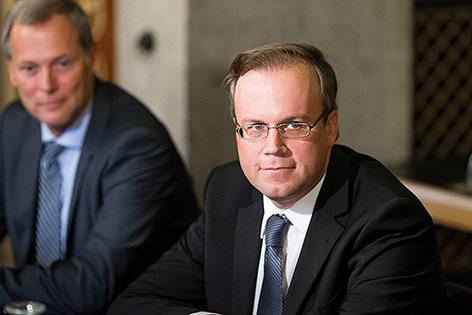 Harald Dobernig beim Hypo-Untersuchungsausschuss