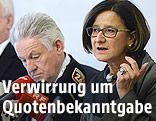Johanna Mikl-Leitner und Josef Pühringer