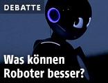 Roboter im Schatten