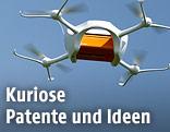 Drone mit Paket