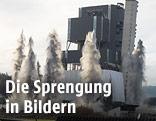 Sprengung des Kraftwerks Voitsberg