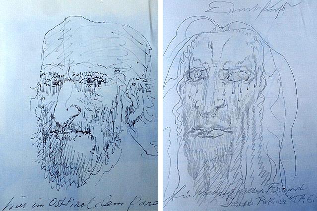 Porträts von Ernst Fuchs