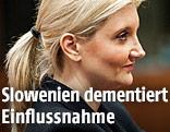 Sloweniens Innenministerin Vesna Györkös Znidar