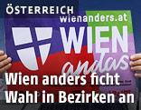 Schild von Wien anders