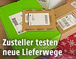 Mehrere Post-Pakete