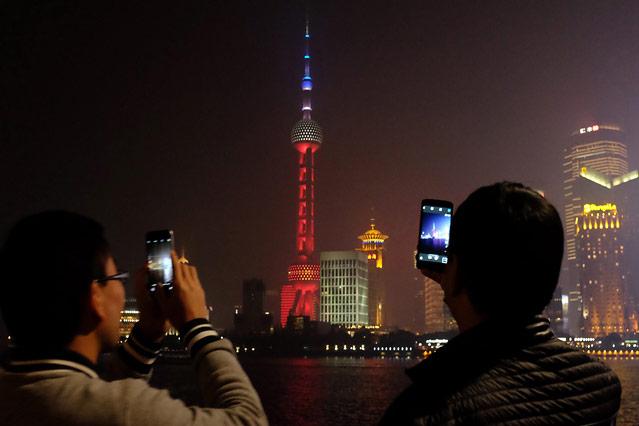 Pearl Tower in Shanghai