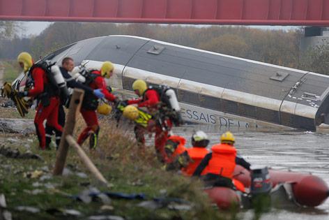 Verunglückter TGV