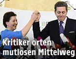Bildungsministerin Gabriele Heinisch-Hosek (SPÖ) und Staatssekretär Harald Mahrer (ÖVP)