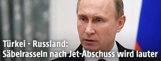 Russlands Präsident Vladimir Putin
