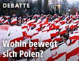 Protest der Rechten in Polen