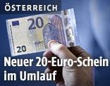 Die neue 20-Euro-Banknote