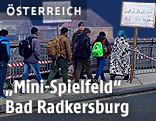 Flüchtlinge in Bad Radkersburg