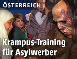 Krampus erklärt sich Asylwerbern