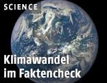 Erde aus dem Weltall fotografiert