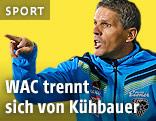 Trainer Dietmar Kühbauer