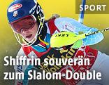 Mikaela Shiffrin (USA) im zweiten Aspen-Slalom