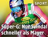 Aksel Lund Svindal (NOR) im Super-G