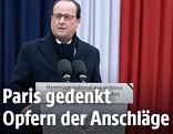 Der französische Präsident Francois Hollande