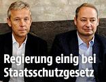 ÖVP-Klubobmann Reinhold Lopatka; SPÖ-Klubchef Andreas Schieder