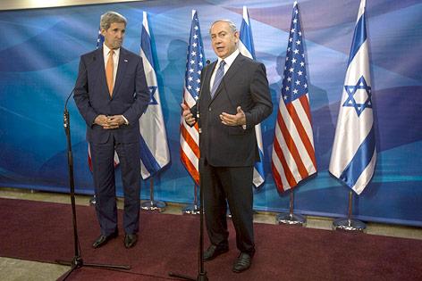 John Kerry und Benjamin Netanjahu