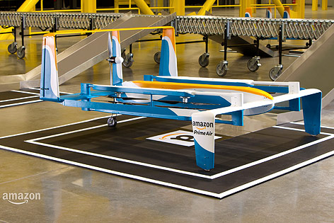 Drohne von Amazon